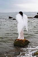 Крылья Ангела шикарные большие белые для фотосессий