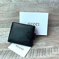 Мужской кожаный кошелёк Gucci, фото 1
