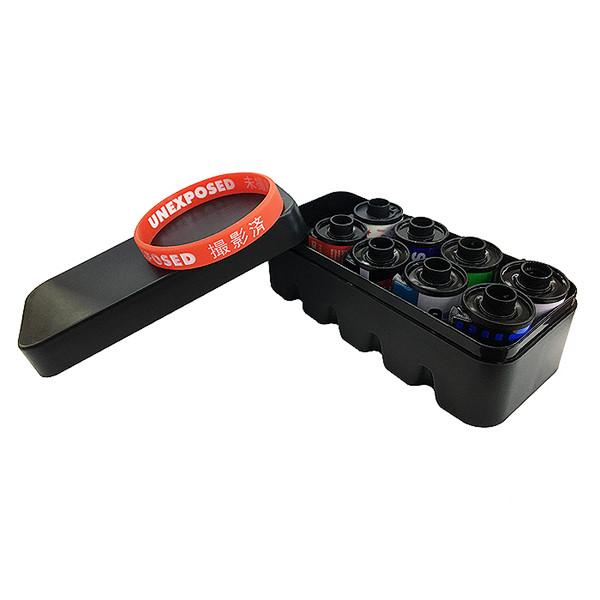 Футляр - бокс для фотопленки 135 типа (узкий формат)