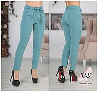 Классические женские брюки с высокой посадкой и поясом. цвета!