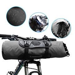 Велосипедная bikepacking походная быстросъемная подрульная грузовая сумка NEWBOLER BAG005 (3-7 л)