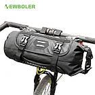 Велосипедная bikepacking походная быстросъемная подрульная грузовая сумка NEWBOLER BAG005 (3-7 л), фото 2