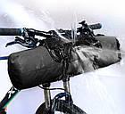 Велосипедная bikepacking походная быстросъемная подрульная грузовая сумка NEWBOLER BAG005 (3-7 л), фото 4