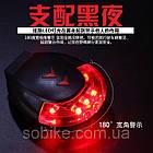 Подседельная диодная мигалка / фонарь / габарит с лазерной проекцией IoRuter CS-088 с зарядкой USB (3 модели), фото 6