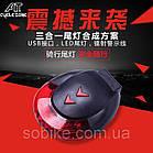 Подседельная диодная мигалка / фонарь / габарит с лазерной проекцией IoRuter CS-088 с зарядкой USB (3 модели), фото 8