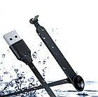 Игровой эргономичный USB-кабель «лапша»TYPE-C для зарядки смартфона WSKEN / BENKS (с присоской, 2 м), фото 2