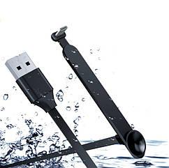 Игровой эргономичный USB-кабель «лапша»TYPE-C для зарядки смартфона WSKEN (с присоской, 1 / 2 м) 2 МЕТРА