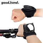 Универсальный браслет с зеркалом заднего вида для велосипедистов BlackEye «Good Hand», фото 2
