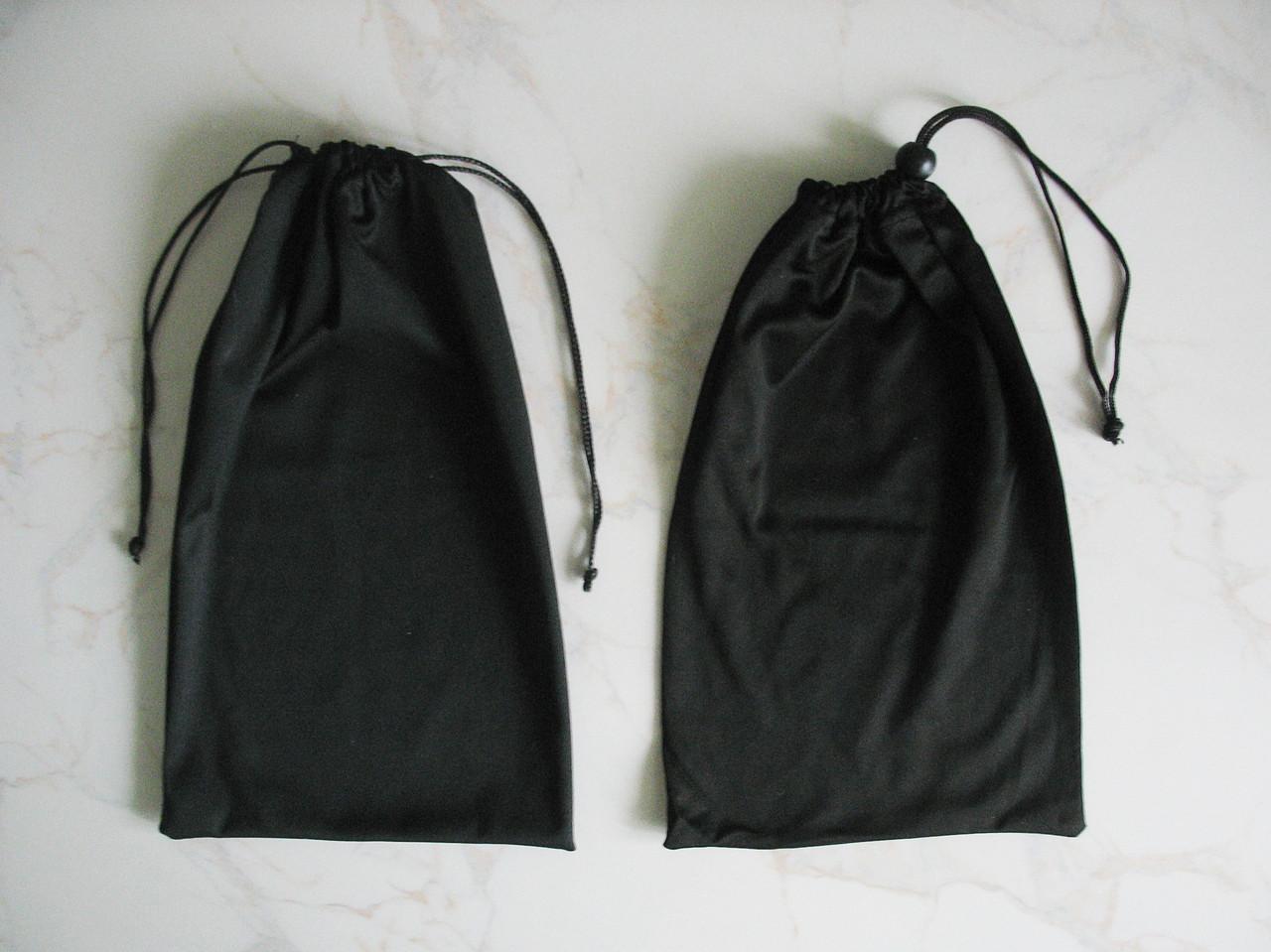 Мішечок / чохол / кисет з затяжками для зберігання лижних масок, з мікрофібри (15 * 25 см)