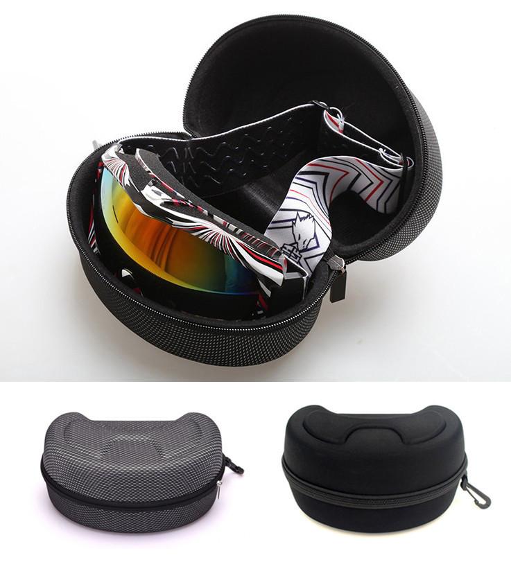 Жесткий каркасный защитный футляр / чехол / бокс / кейс для хранения лыжных масок