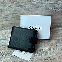 Мужской кожаный кошелёк от Gucci, фото 1