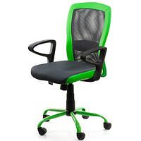 Крісло офісне LENO Grey-Green 27784, фото 1