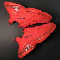 Кроссовки Balenciaga Triple S Full Red