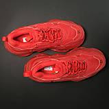 Кроссовки Balenciaga Triple S Full Red, фото 2