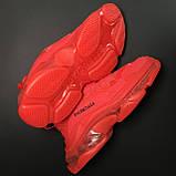Кроссовки Balenciaga Triple S Full Red, фото 4