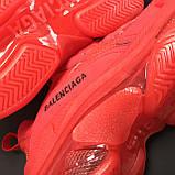 Кроссовки Balenciaga Triple S Full Red, фото 5