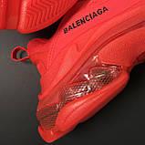 Кроссовки Balenciaga Triple S Full Red, фото 6