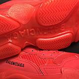Кроссовки Balenciaga Triple S Full Red, фото 7