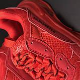 Кроссовки Balenciaga Triple S Full Red, фото 10