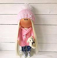 Лялька ручної роботи. Кукла Тильда. Авторська лялька ручної роботи