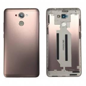 Задняя крышка Huawei Y7 Prime (TRT-L21A) золотистая, фото 2