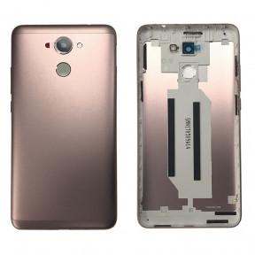 Задняя крышка Huawei Y7 Prime (TRT-L21A) золотистая