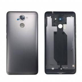 Задняя крышка Huawei Y7 Prime (TRT-L21A) серая, фото 2