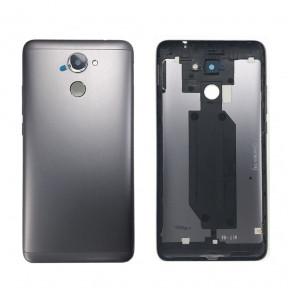 Задняя крышка Huawei Y7 Prime (TRT-L21A) серая