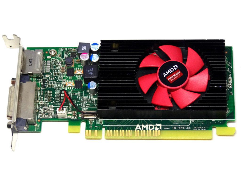 Відеокарта AMD Radeon R5 340x 2Gb PCI-Ex DDR3 64bit (DVI + DP) низькопрофільна