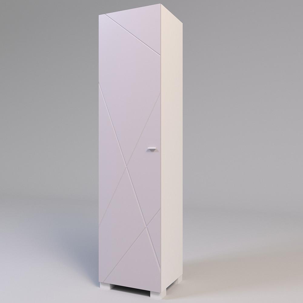 Стеллаж закрытый Х-Скаут Х-01 пудрово-розовый мат