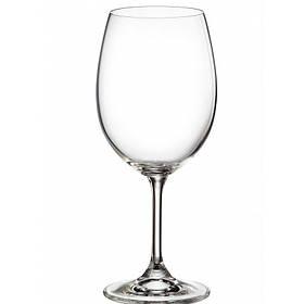 Набор бокалов Bohemia Sylvia (Klara) для вина 580 мл 6 шт 4S415/580
