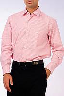 Рубашка в розовую полоску