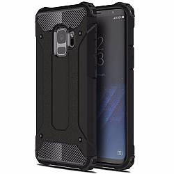 Чохол ударостійкий і решіток UVR для Samsung Galaxy S9 Plus Чорний (acf_00397)