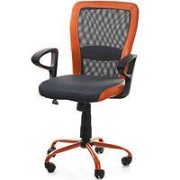Кресло офисное LENO, Grey-Orange 27783, фото 1