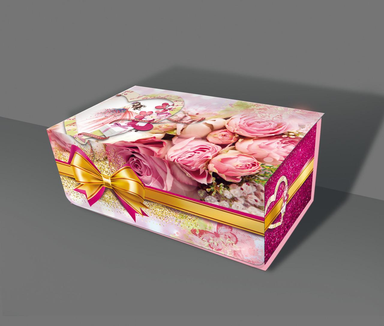 Подарункова паперова Скринька 700 грам