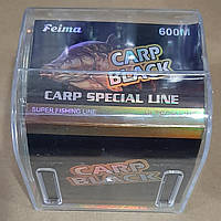 Леска Feima Carp Special Line Black Carp 600 метров