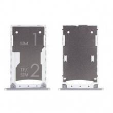 Держатель Sim-карты Xiaomi Mi4s белый, на две Sim-карты