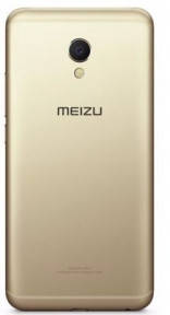 Задняя крышка Meizu M3, M3 mini (M688H) золотистая, фото 2