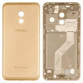 Задняя крышка Meizu Pro 6 (M570) золотистая, фото 2