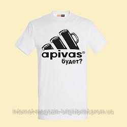 """Чоловіча футболка з принтом """"Apivas буде"""""""