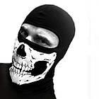 Легка вентильована балаклава / підшоломник / лижна маска / гірськолижна з черепом, фото 3