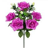 Букет  розы с бутонами, 48см (по 10 шт. в уп.), фото 2