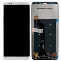 Дисплей Xiaomi Redmi 5 Plus с сенсором (тачскрином) белый