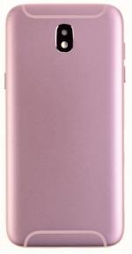 Задняя крышка Samsung J730F Galaxy J7 (2017) розовая Оригинал Китай