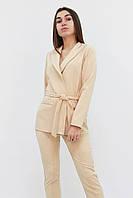 S, M, L, XL /  Стильний жіночий костюм Mango, бежевий