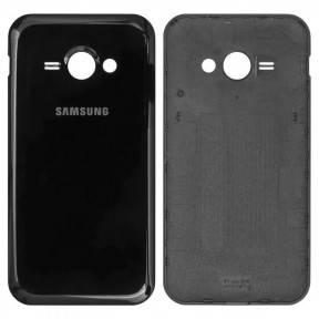 Задняя крышка Samsung J110HDS Galaxy J1 Ace черная, фото 2