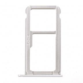 Держатель Sim-карты и карты памяти Huawei P10 (VTR-L09, VTR-L29) белый