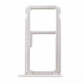 Держатель Sim-карты и карты памяти Huawei P10 (VTR-L09, VTR-L29) белый, фото 2