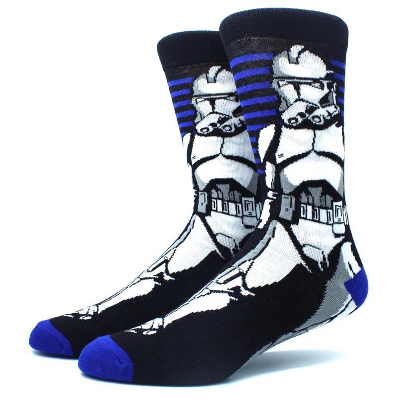 Длинные мужские носки Звёздные войны
