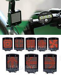 Вело-габарит поворотний 64 LED з бездротовим пультом Д/У LEADBIKE LD-24